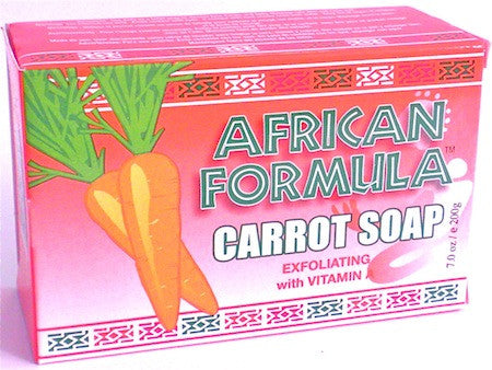 African Formula Carrot Soap 7 oz.