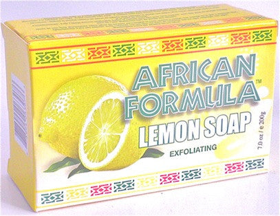 African Formula Lemon Soap Exfoliating 7 oz.