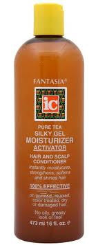 Fantasia IC Pure Tea Silky Gel Moisturizer Activator Hair & Scalp Conditioner 16 oz.