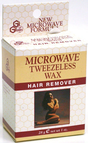 GiGi Microwave Tweezeless Wax Hair Remover 1 Oz.