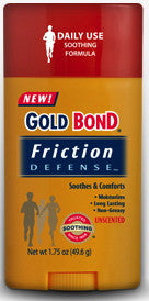 Gold Bond Friction Defense Unscented 1.75 oz.