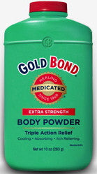 Gold Bond Medicated Extra Strength Body Powder 10 oz.