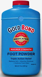 Gold Bond Medicated Maximum Strength Foot Powder 10 oz.