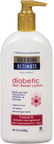 Gold Bond Ultimate Diabetic's Dry Skin Relief Hydrating Lotion 13 oz.
