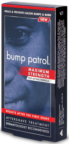 Bump Patrol Maximum Strength Fast-Acting Formula Aftershave Treatment  2 oz