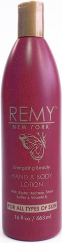 Remy New York Energizing Hand & Body Lotion 16 oz.