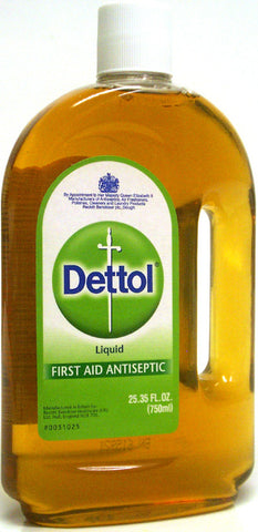 Dettol First Aid Antiseptic Liquid 25.35 oz (750ml)