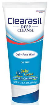 Clearasil Daily Face Wash Net Wt. 6.5 Oz. (184 g)