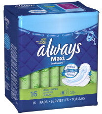 Always Maxi Long Super Flexi-Wings 16 ea.