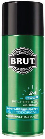 Brut Anti-Perspirant Deodorant Spray Original Fragrance 6 oz.