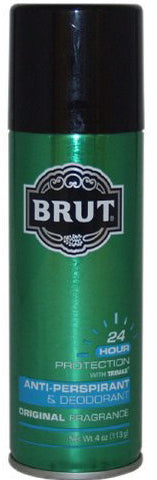 Brut Anti-Perspirant Deodorant Spray Original Fragrance 4 oz.