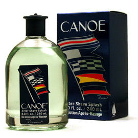 Canoe For Men After Shave Splash 8 oz.