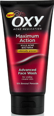 Oxy Maximum Action Advanced Face Wash 5 oz.