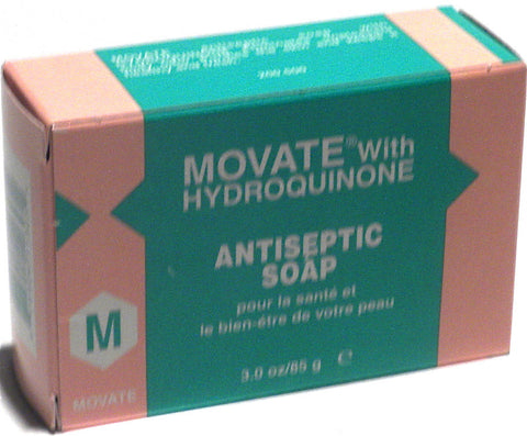 Movate With Hydroquinone Antiseptic Soap 3 oz.