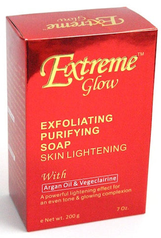 Extreme Glow Exfoliating Purifying Soap Skin Lightening 7 oz.