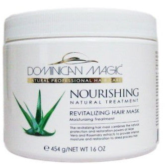 Dominican Magic Revitalizing Hair Mask Moisturizing Treatment 16 oz.