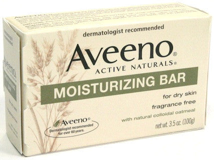 Aveeno Active Naturals Moisturizing Bar 3.5 oz.