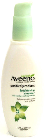Aveeno Active Naturals Positively Radiant Brightening Cleanser 6.7 Fl. Oz. (200 ml)