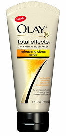 Olay Total Effects 7 in 1 Anti-Aging Cleanser Refreshing Citrus Scrub 6.5 oz.
