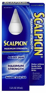 Scalpicin Maximum Strength Anti-Itch Liquid 1.5 oz.