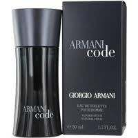 Armani Code by Giorgio Armani For Men Eau de Toilette Spray 1.7 oz.