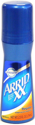 Arrid XX Roll On Antiperspirant Deodorant Regular 2.5 oz.
