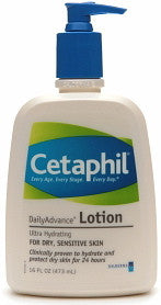 Cetaphil DailyAdvanced Lotion for Dry Sensitive Skin 16 oz.