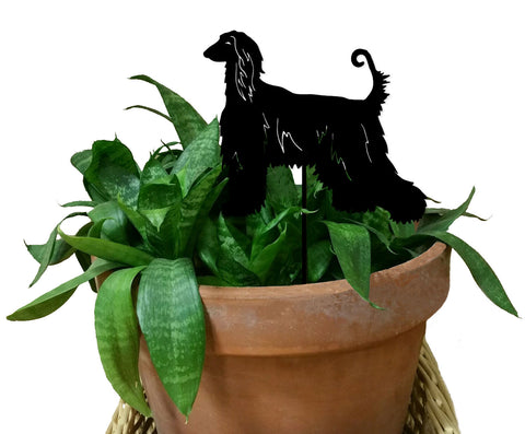 Afghan Hound Ornament or Plant Stake