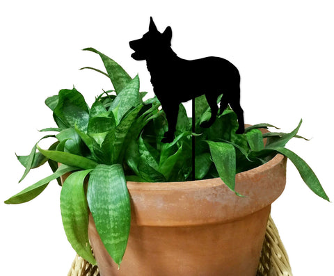 Australian Cattle Dog Ornament or Plant Stake