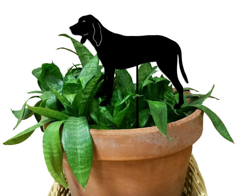 Coonhound Ornament or Plant Stake
