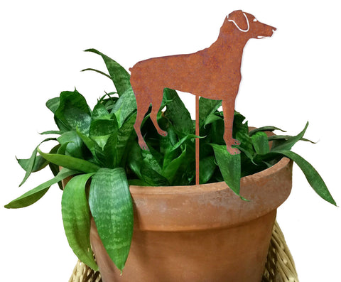 Doberman Pinscher Ornament or Plant Stake