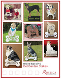 Custom Designed Pet Garden Stake or Wall Hanging from a photo