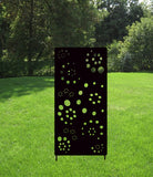 Privacy Screen / Accent Screen / Garden Stake or Wall Hanging (Cil O Circle)