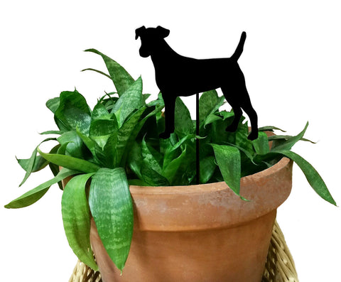 Smooth Fox Terrier Ornament or Plant Stake