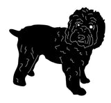 Wheaten Terrier Garden Stake or Wall Hanging (Style 2)
