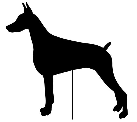 Dog Breed Garden Stakes