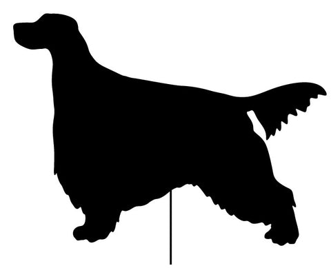 Gordon Setter Garden Stake or Wall Hanging