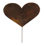 Heart Garden Stake or Wall Hanging / Valentine