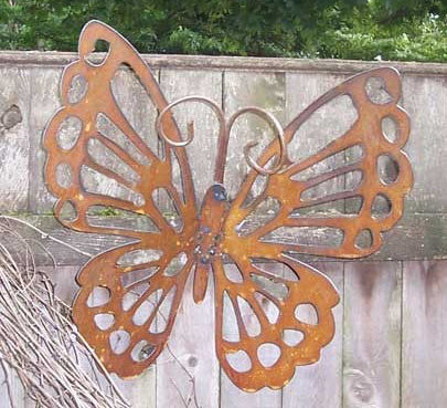 Rustic Hanging Butterfly