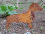 Dachshund Garden Stake or Wall Hanging (Style 2)