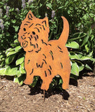 West Highland Terrier Garden Stake