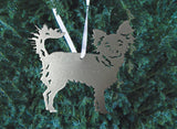 Chrome Sparkle Chihuahua Ornament