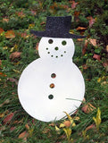 Oversized Snowman Decoration