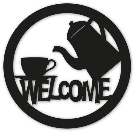 Coffee or Tea Welcome Sign