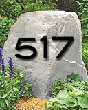 Blair Font House Numbers or Letters (Set of 2) / 2 Inch up to 8 Inch / Address / Sign / Metal / Large / Business / Restaurant / Office / Powder Coated