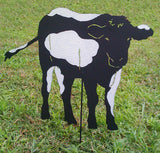 Cow Garden Stake or Wall Hanging
