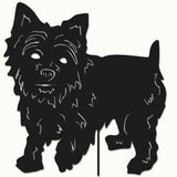 Black Yorkshire Terrier Wall Hanging