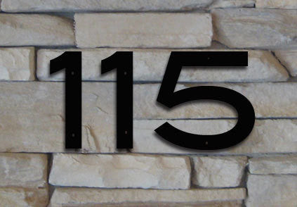 Blair font house numbers or letters 2 to 8 inches set of 1