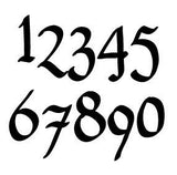 House Numbers or Letters (Set of 6) / 2 Inch up to 8 Inch / Address / Sign / Metal / Custom / Business / Restaurant / Office / Powdered Coated