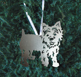 Yorkshire Terrier Ornament or Plant Stake